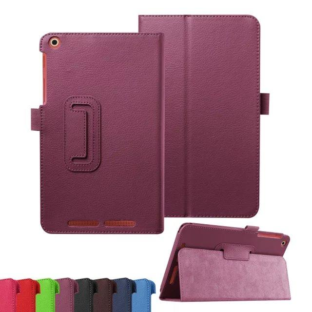 все цены на Ultra Slim Litchi 2-Folding Folio Stand PU Leather Skin Protective Cover Case For Acer Iconia One 8 B1-820 B1 820 8inch Tablet онлайн