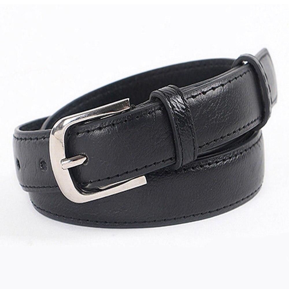 high quality leather belt black cummerbunds