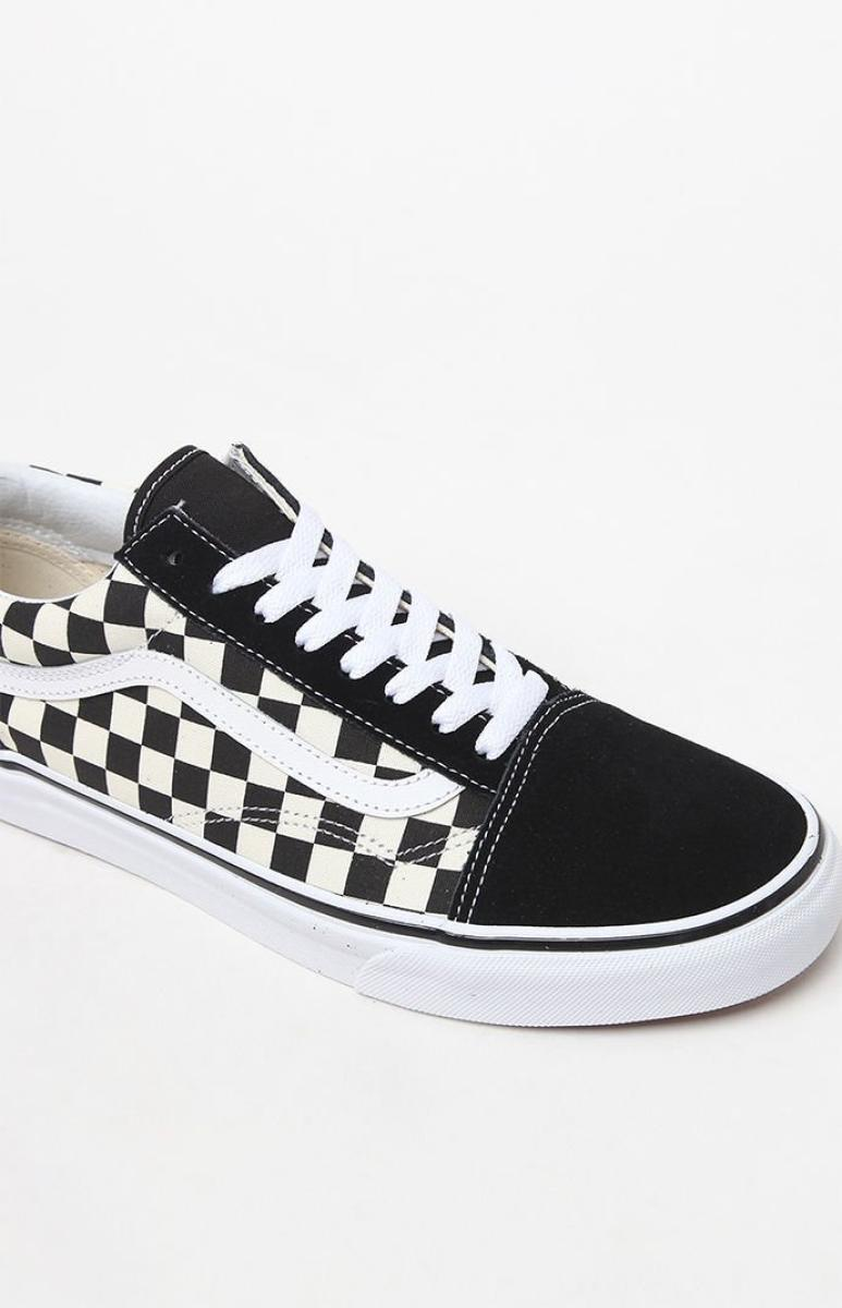 vans checkerboard low