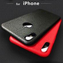 for Iphone X case Ultra thin lines 6 plus Non-slip 6S plus Anti-hand lines 7 plus 8 plus Luxury Pattern Mobile 6 7 8 Phone Case