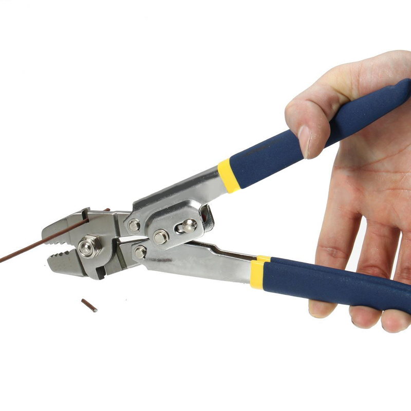 New Wire Cope Crimping Tool Wire Rope Clamp Fishing Lines Pliers ...