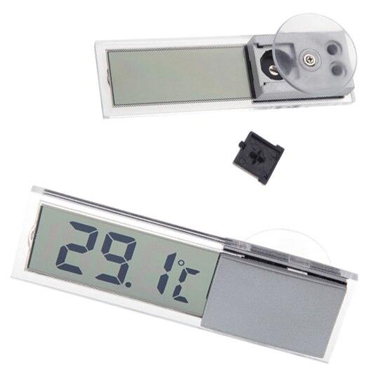 Digital Temperature Meter : Mini portable lcd digital temperature meter display car