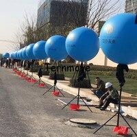inflatable tripod balloon display column led lighting inflatable air standing balloon advertising tripod pole