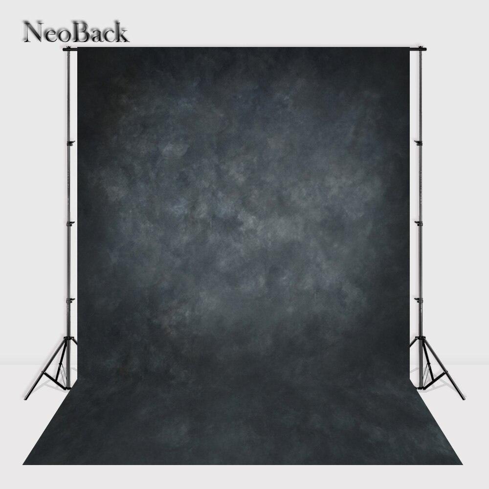 NeoBack Vinyl Cloth Photography Backdrop Red Background Studio Misty Dark Grey Portrait Photo Backdrop Wedding Backdrop P1432 8x10ft valentine s day photography pink love heart shape adult portrait backdrop d 7324