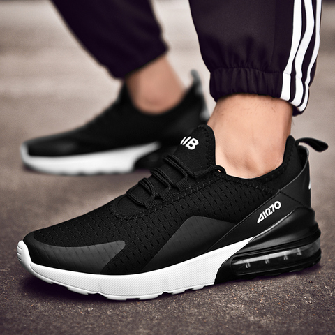 Men Casual Shoes Spring Autumn Breathable Sneakers Men Air Cushion Mesh Sports Shoes Trend Trainers Men Shoes Big Size Lahore