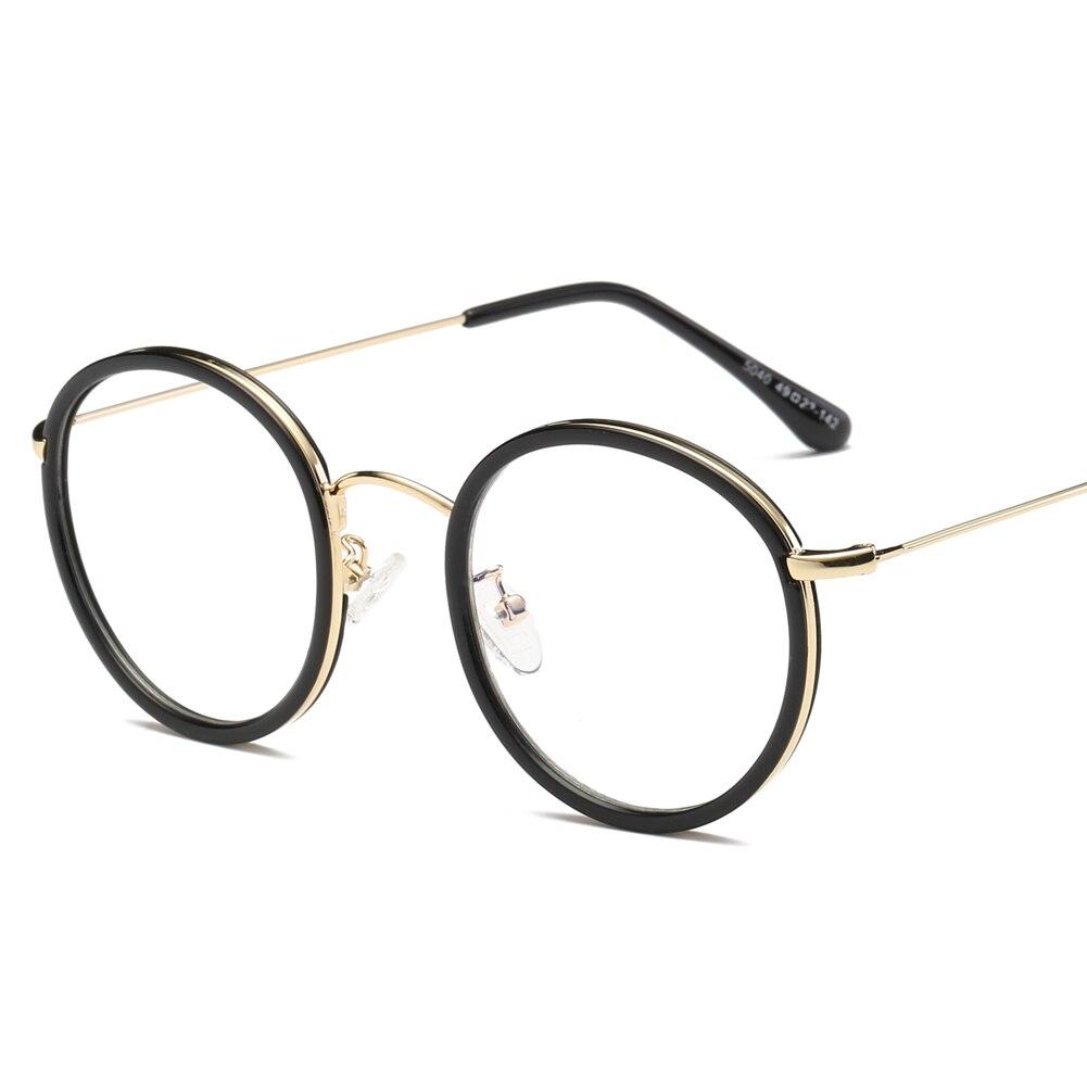 Retro Eyeglasses Frame Vintage Round Prescription Glasses Frame ...