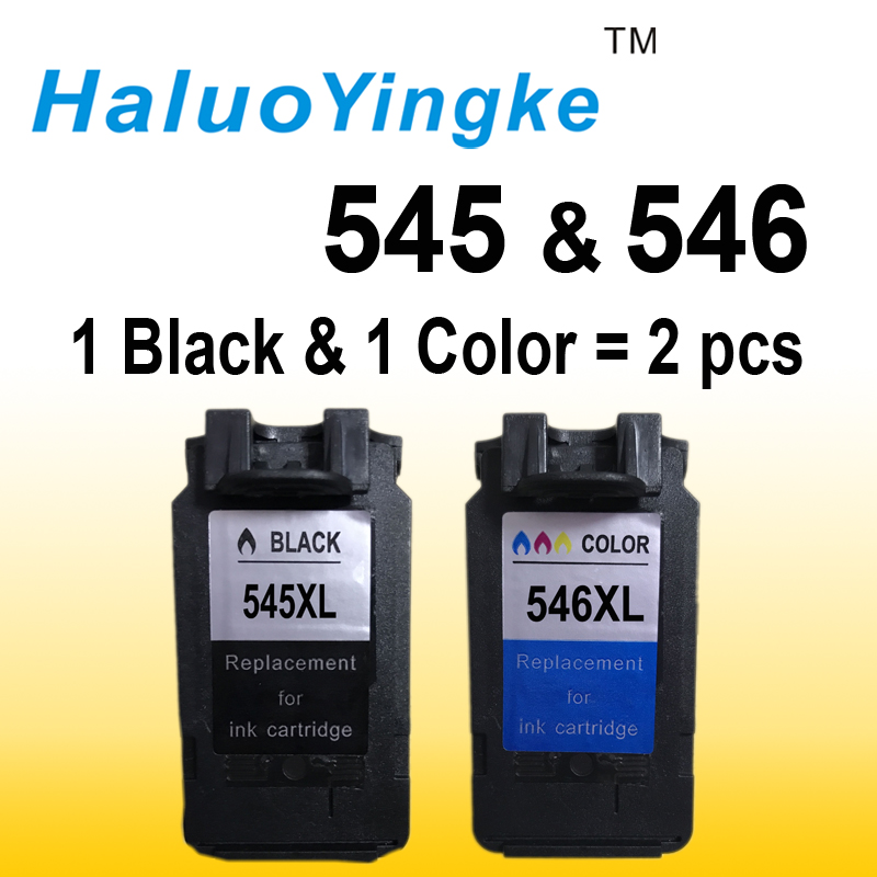 2Pack PG545 CL546 XL ink cartridges replacement for Canon PG-545 pg 545 CL-546 for Canon IP2850 MX495 MG2950 MG2550 MG2450 pg 810 cl 811 ink cartridge for canon pg 810 xl cl 811 xl for canon ip2770 ip2772 mx328 mx338 printer ink