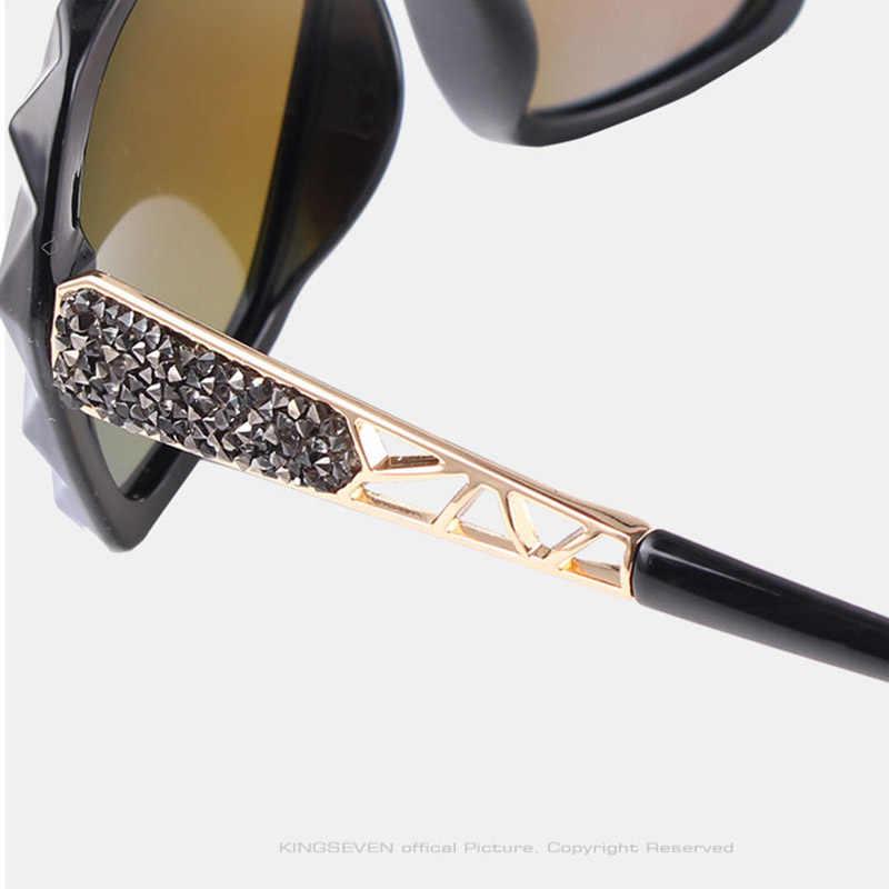 Женские солнцезащитные очки de sol N7538, модные дизайнерские очки-бабочки с градиентными точками, 2020