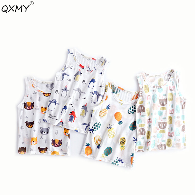 T-Shirt Underwear Chilren's-Tops Girls Boys Kids Cotton Summer Casual for Tees 2-8T