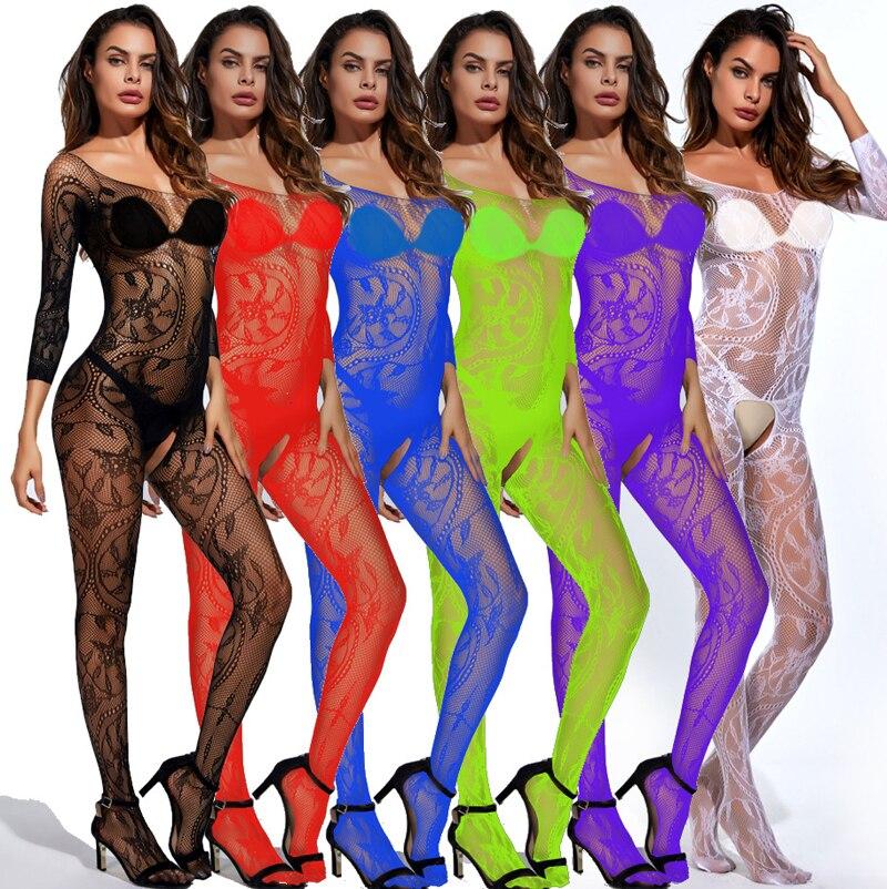 HTB1AhamLr2pK1RjSZFsq6yNlXXa7 Picardías de encaje transparente para mujer, ropa de dormir de talla grande 6XL, Sexy, camisas para dormir