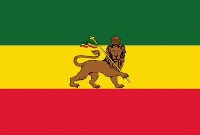 Йонин 90*150 см Эфиопский Лев Иуды флаги