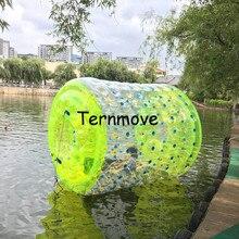 Надувной водный барабан Rolling шар надувной ходьба колеса надувных шарика надувные водные прогулки плавающей roll