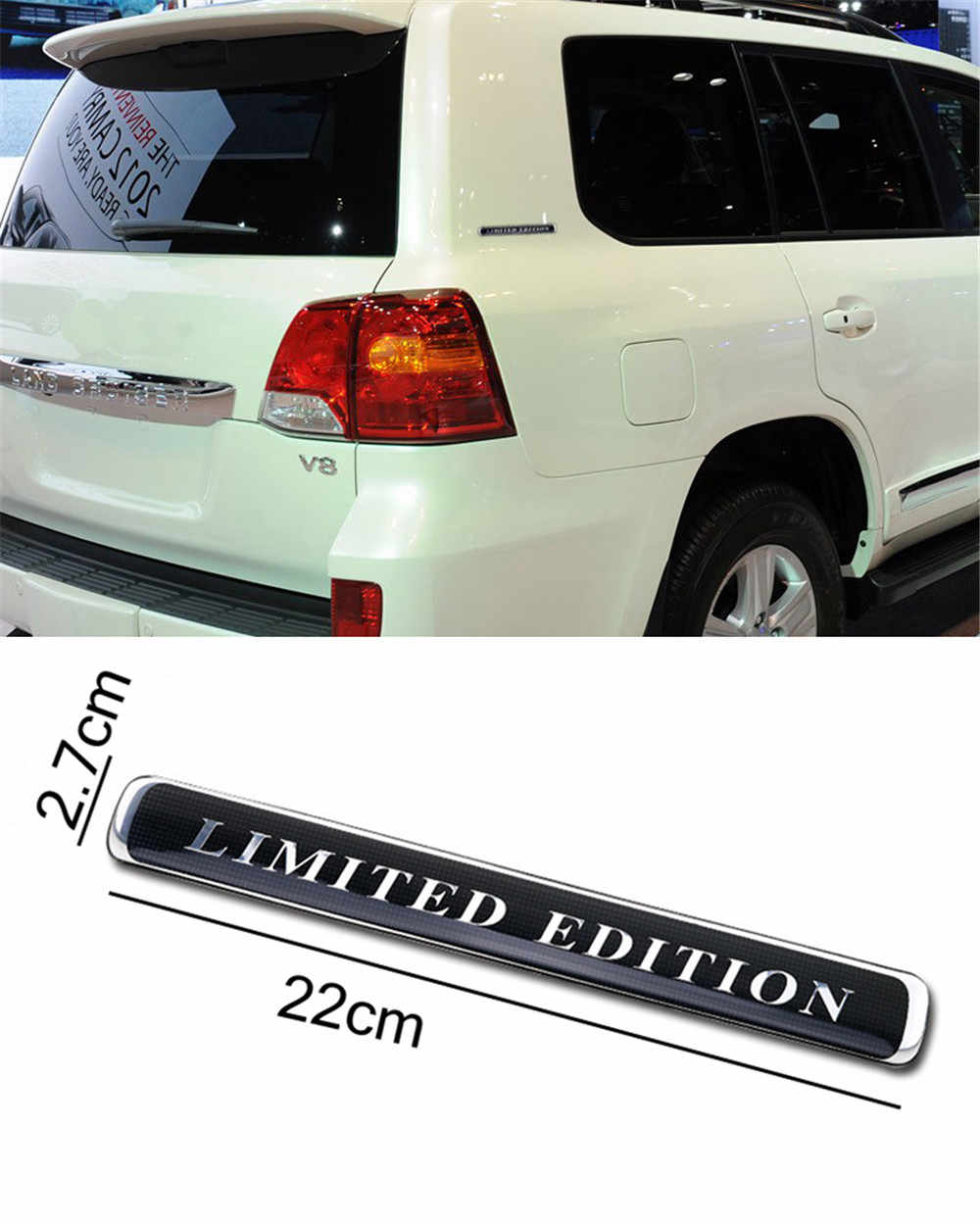 Commemorative Limited Edition Logo Car Body Sticker For Toyota Land Cruiser 200 Fj Cruiser Luxury Suv Auto Trunk Side Emblem Car Stickers Aliexpress