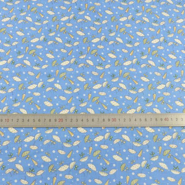 100% نسيج القطن الدهون ربع الأنسجة خليط الكرتون مظلة الأقمشة تصميم المنسوجات المنزلية Tecido الخياطة القماش الفن العمل الحرف
