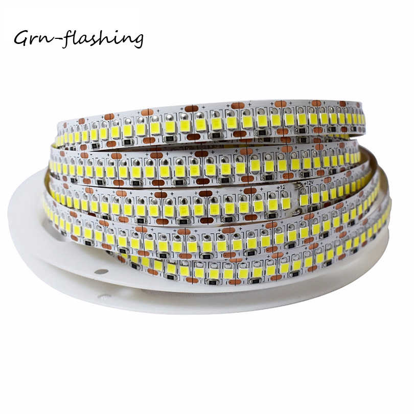 Super Helligkeit 1M 2M 3M 4M 5M LED Streifen Licht Band 2835 240 LEDs/ M DC12V 24V Flexible LED Band String Licht Warm Weiß/Weiß
