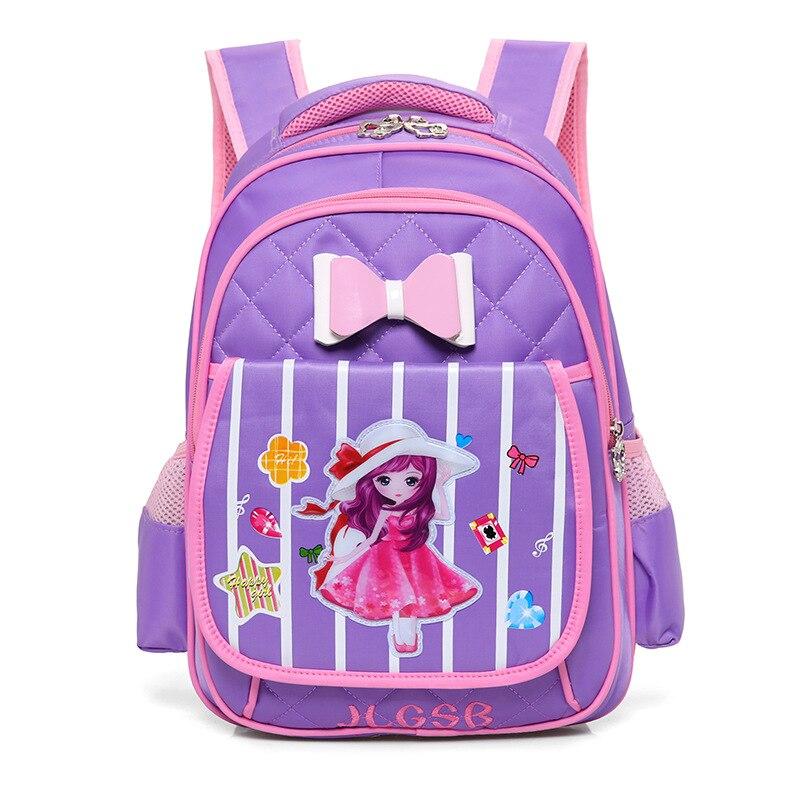 Kawaii Cartoon Princess Backpack For Girls Children School Bags Women Shoulder Bags Student School Backpack Kids Bookbag