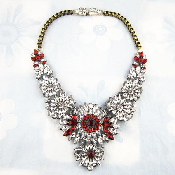 Relatively Brand Designer Flower Choker Women Necklaces & Pendants Fashion  JX71