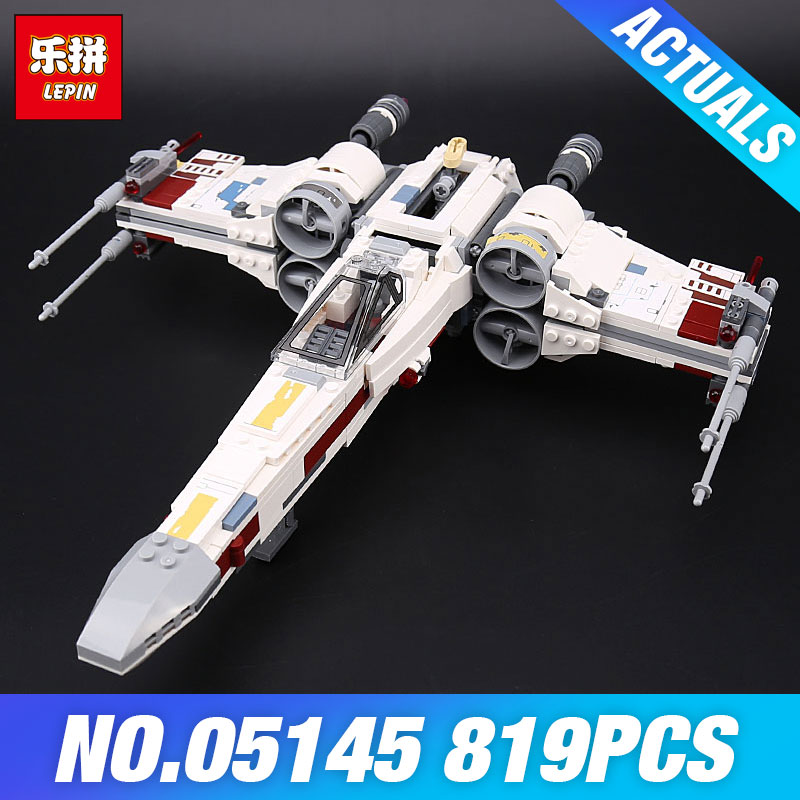 Lepin 05145 Star Plan The X 75218 wing Star toys Fighter Wars Model Building set Blocks Bricks DIY Children Toys Christmas Gifts single sale star wars superhero marvel avengers iceman x men building blocks action sets model bricks toys for children