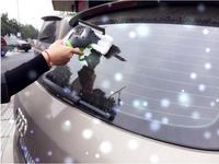Car Wash Brush Water Flow Switch Foam Bottle Car Cleaning Brush Wiper Squeegee Drying Blade Microfiber