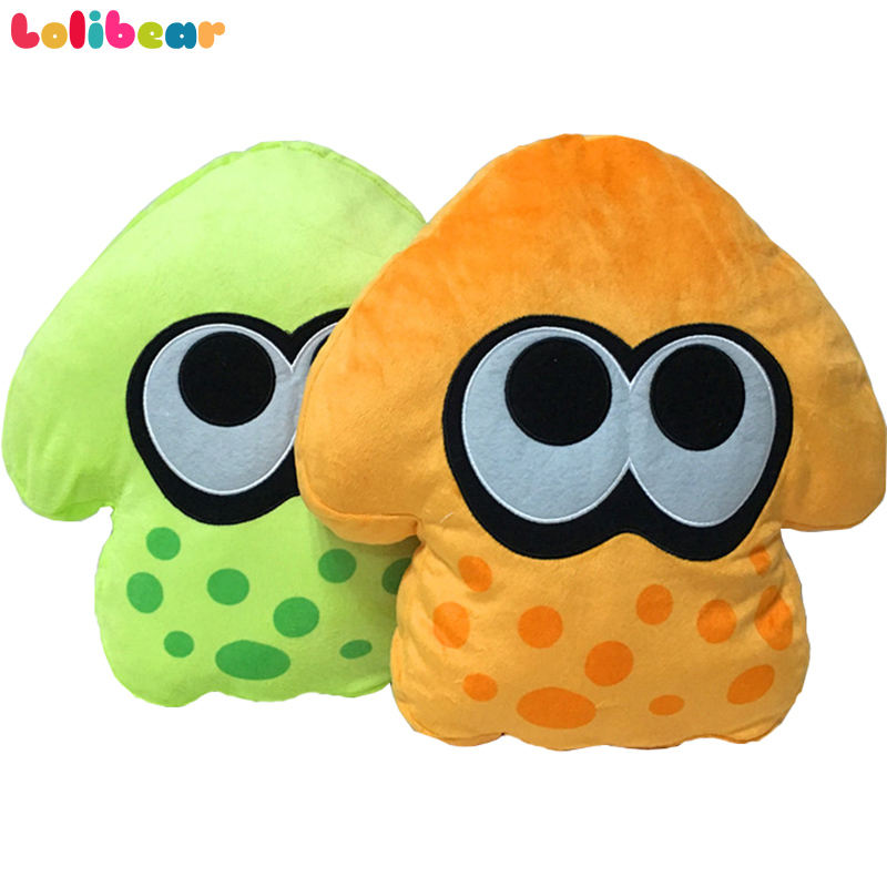 32cm Splatoon 2 Plush Pillow Soft Stuffed Animal 2 Styles Japan Splatoon Bonhommd Plush Toys Doll For Children Birthday Gift