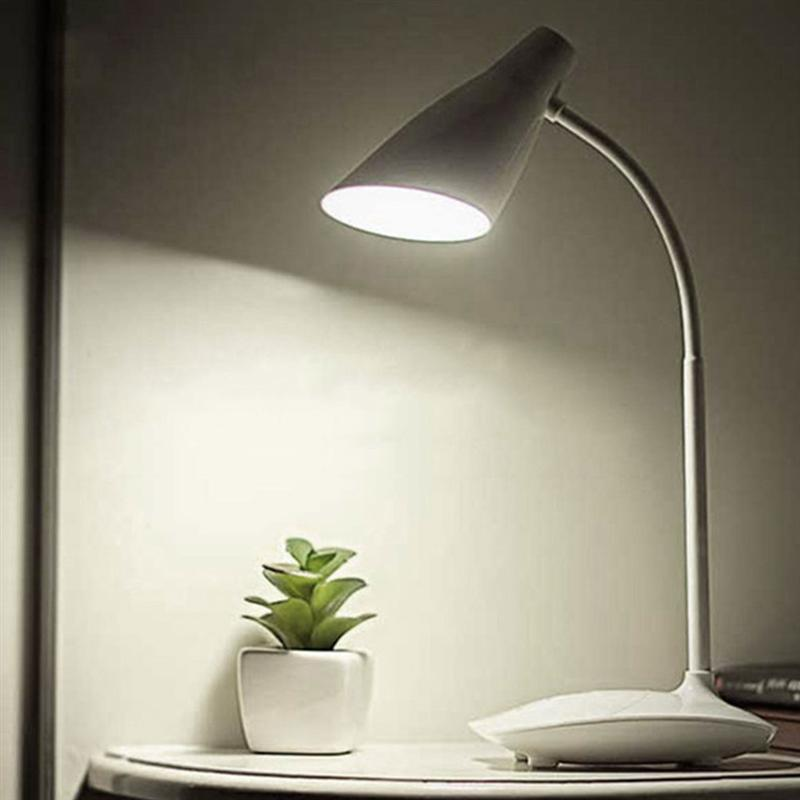 Us 12 11 40 Off Dimmable Led Table Lamp Battery Operated Rechargeable Touch Control Cordless Light Gooseneck 3 Brightness Levels In
