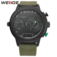 WEIDE Brand Wristwatch New Arrival Quartz Watches Multiple Time Zone 3ATM Water Resistant Chronograph Valentine S