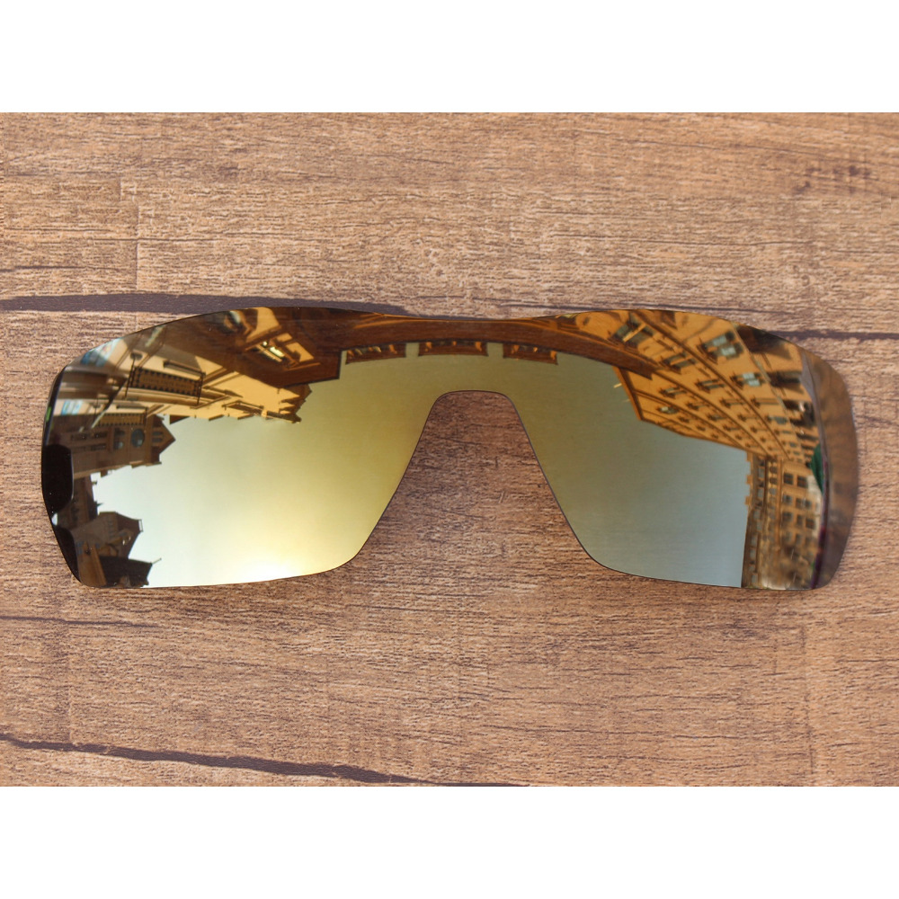 Vonxyz Bronze Mirror Polarized Replacement Lenses For-Oakley Offshoot Frame