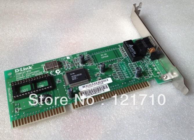 DE-220PT REV-D2 10Mbps Ethernet ISA Network Adapters