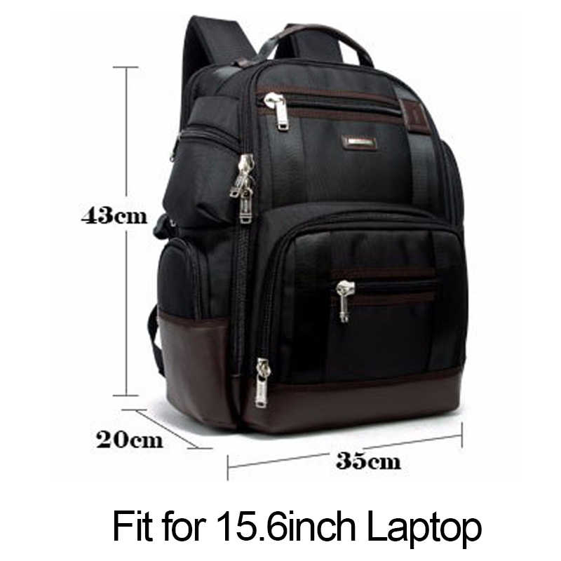 Bopai Merk Multifunctionele Rugzak Tas Grote Capaciteit Schouders Tas Laptop Rugzak Mode Mannen Rugzak Maat 43*35*20 Cm