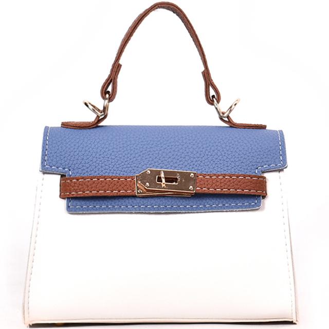 Bag for women 2020 new wild Messenger bag tide summer Korean version of the simple shoulder bag small bag hit color small square