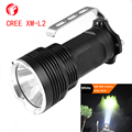 Flashlight LED CREE XM-L2 Aluminum light cup Highlight Long Shots portable lamp Camping Adventure Hunting LED Searchlight