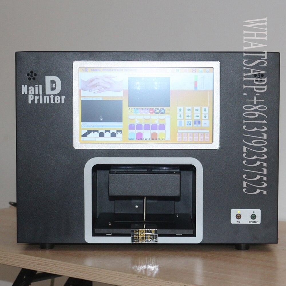 3 jaar garantie digitale screen nail art printer cartridge en poetsmiddelen vrij nagel en bloem printer