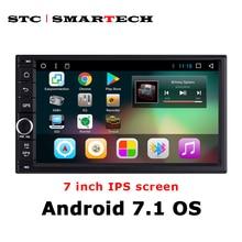 SMARTECH 2din Android 7 1 Car GPS Navigation Autoradio System For Nissan Toyota Suzuki Hyundai Honda