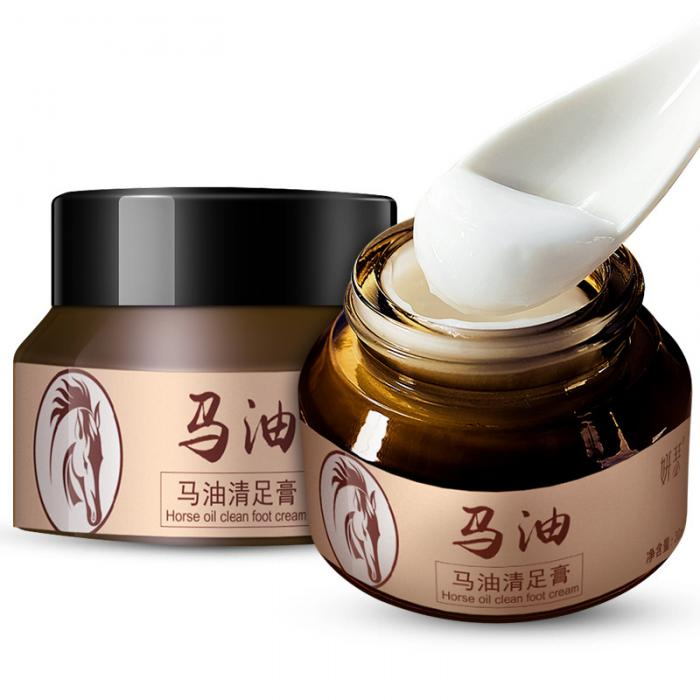 18 Horse Oil Feet Cream for Athlete Feet Itch Blisters Anti-chapping Peeling Antibacterial Ointment 11