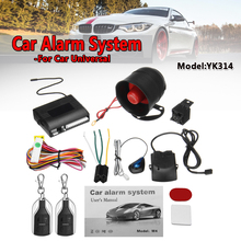 One Way Car Alarm Vehicle System Protection Securit