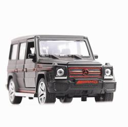 1/32 Diecasts и игрушечных автомобилей Mercedes G65 AMG Модель автомобиля со звуком и светом игрушки коллекции автомобилей для мальчиков Детский подаро...