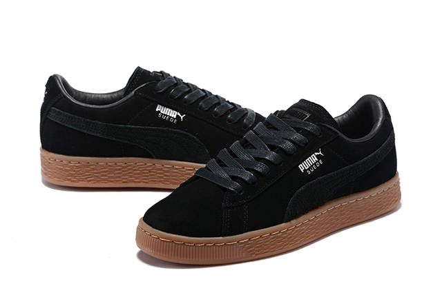 best service 4dd72 a5127 US $62.12 5% OFF Original PUMA Unisex Suede Classic CITI Heritage Basket  Classic Rudolf Dassler Sneakers Badminton Shoes Size36 44-in Badminton  Shoes ...