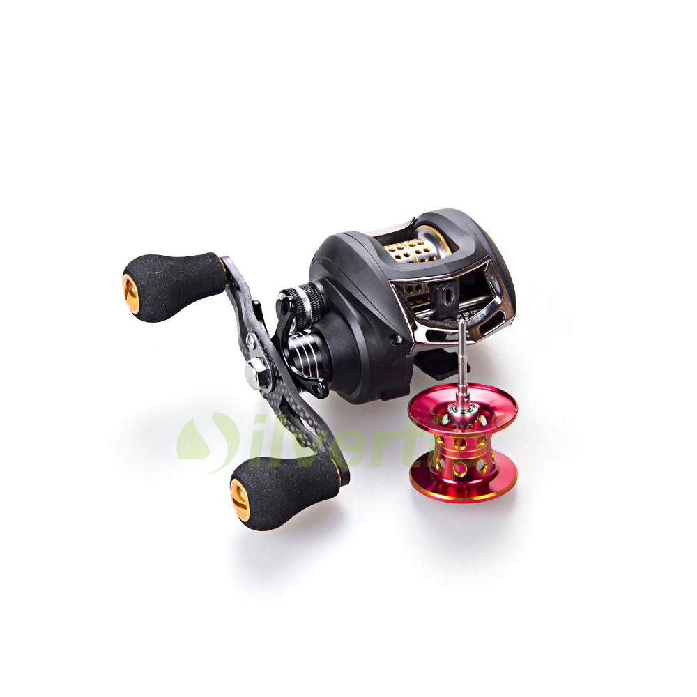 Free Shipping Bait Casting Fishing Reel Baitcasting Baitcast Dual Extra Spool Yoshikawa WW20 nunatak original 2017 baitcasting fishing reel t3 mx 1016sh 5 0kg 6 1bb 7 1 1 right hand casting fishing reels saltwater wheel