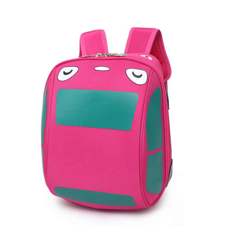 3D жесткая оболочка школьная сумка автомобиль детская сумка для мальчиков и девочек школьные сумки Детский Рюкзак Школьная Сумка mochila infantil sac dos enfant