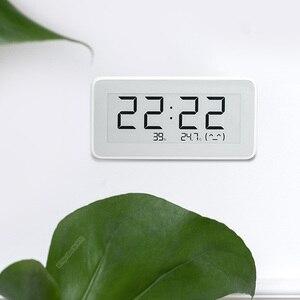 Image 5 - Xiaomi Mijia BT4.0 sans fil intelligent électrique horloge numérique intérieur et extérieur hygromètre thermomètre LCD température outils de mesure