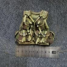 1/6 Jungle Camouflage Green Tactical Vest Models for 12 Figures