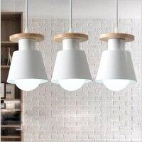Nordic Iron Pendant Lights Bar Restaurant Cafe Table Villa Office Simple E27 Pandent Lamp Lighting