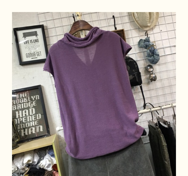 women knitted tees lady 8