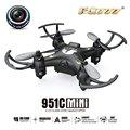 Venta caliente FQ777 Control Remoto Mini 4 Canales 2.4 GHz función Anti-interferencias 0.3MP cámara RC Quadcopter Drone Juguete