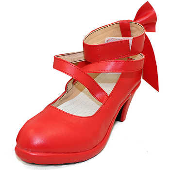 Puella Magi Madoka Magica Women's kaname madoka Cosplay custom high heeled shoes Sandals - DISCOUNT ITEM  0% OFF All Category