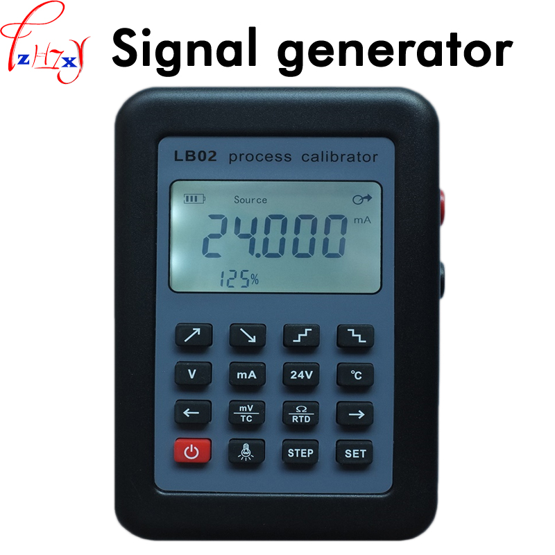 Current voltmeter signal source calibration instrument LB02 4-20mA signal generator  with LED segment code LCD screen 1pcCurrent voltmeter signal source calibration instrument LB02 4-20mA signal generator  with LED segment code LCD screen 1pc