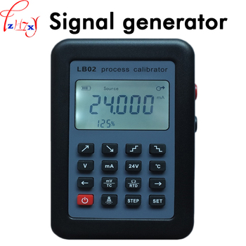 Current voltmeter signal source calibration instrument LB02 4-20mA signal generator  with LED segment code LCD screen 1pc