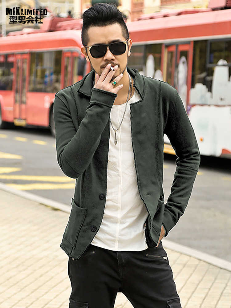 חדשה באיכות גבוהה סתיו חורף גברים מקרית בלייזר גברים של כותנה חליפת מעיל slim fit גברים של קלאסי בלייזר מעיל אופנה F2102