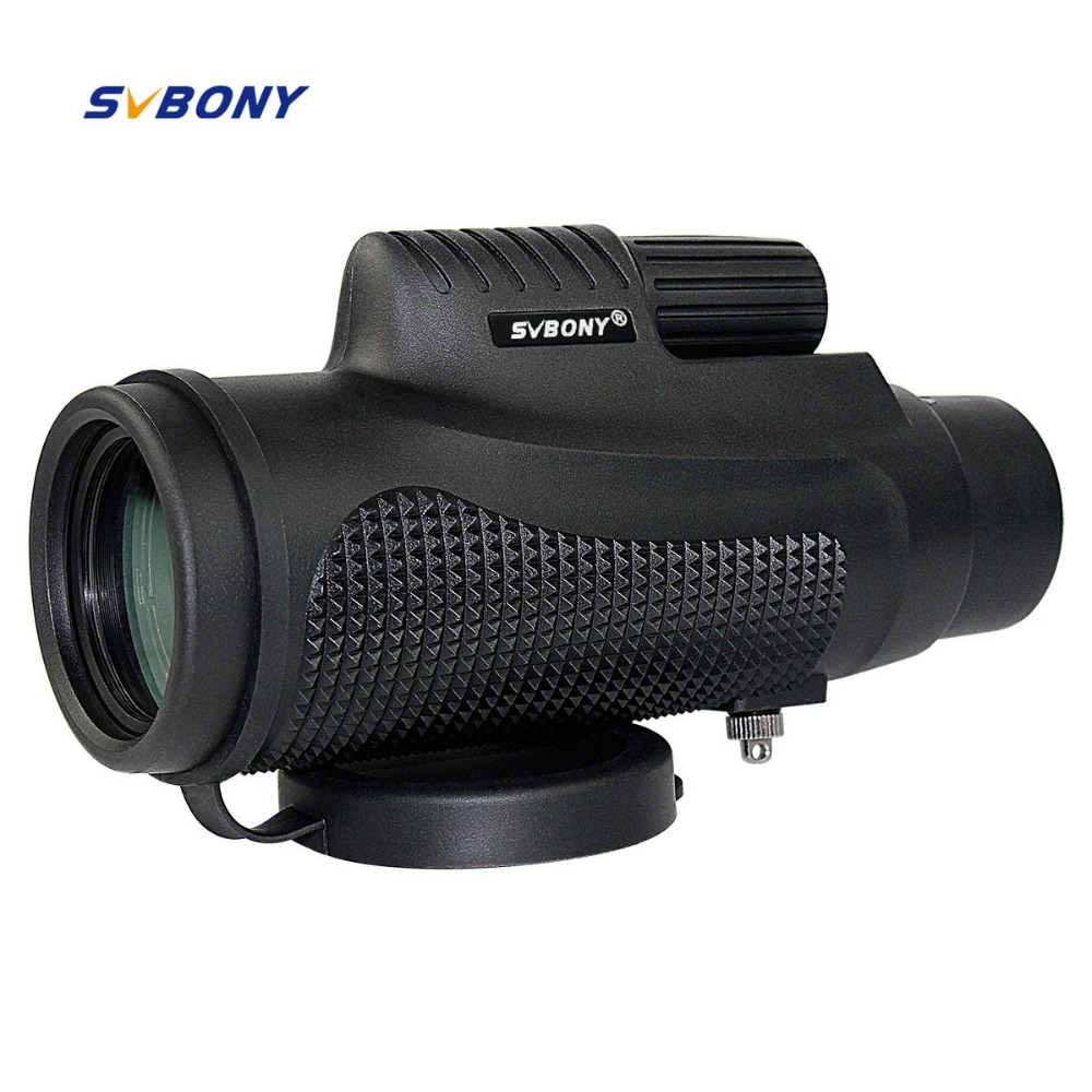SVBONY 10x42 Monocular Telescope Waterproof BK7 Focus Travel Camping Outdoor Optics Hiking Monocular Telescope F9116AD