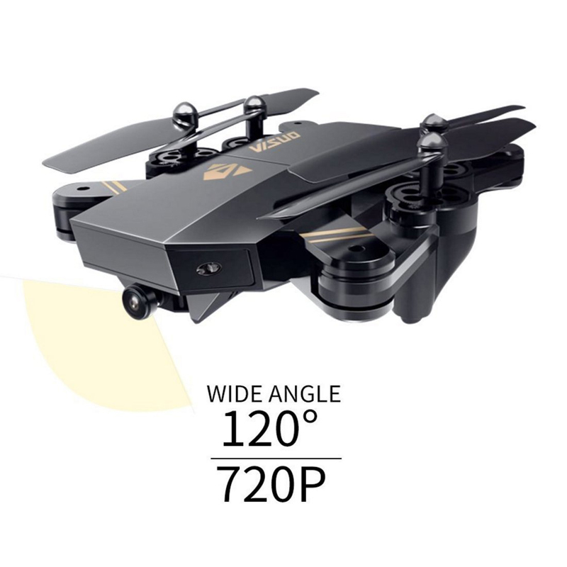 VISUO XS809HW XS809W Selfie Drone With Wide Angle HD Camera RC Drone Profissional WiFi FPV RC Quadcopter Helicopter Mini Dron (Set7 2MPW F 1B)